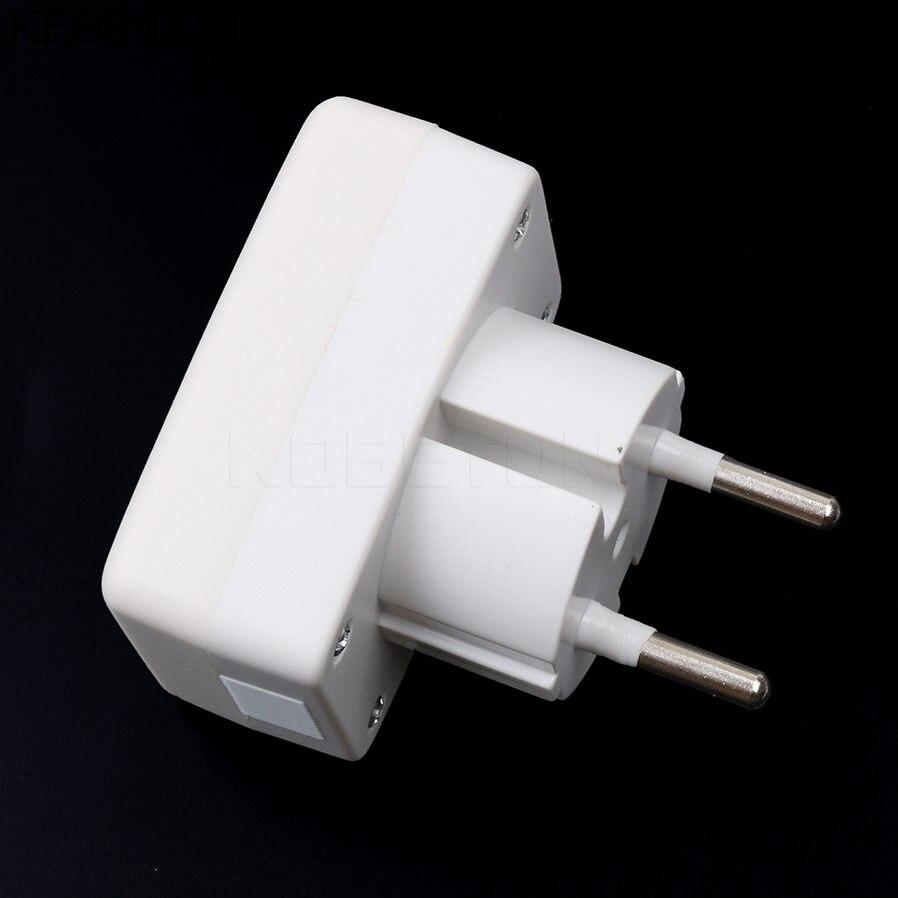 LCD Digital Voltage Meter Household AC Panel Meter Euro EU/US Plug ...