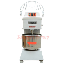 21L RY-HLS20B barril de aço inoxidável misturador de massa dupla velocidade da batedeira comercial elétrica 1100 w motor, 120-210 rpm