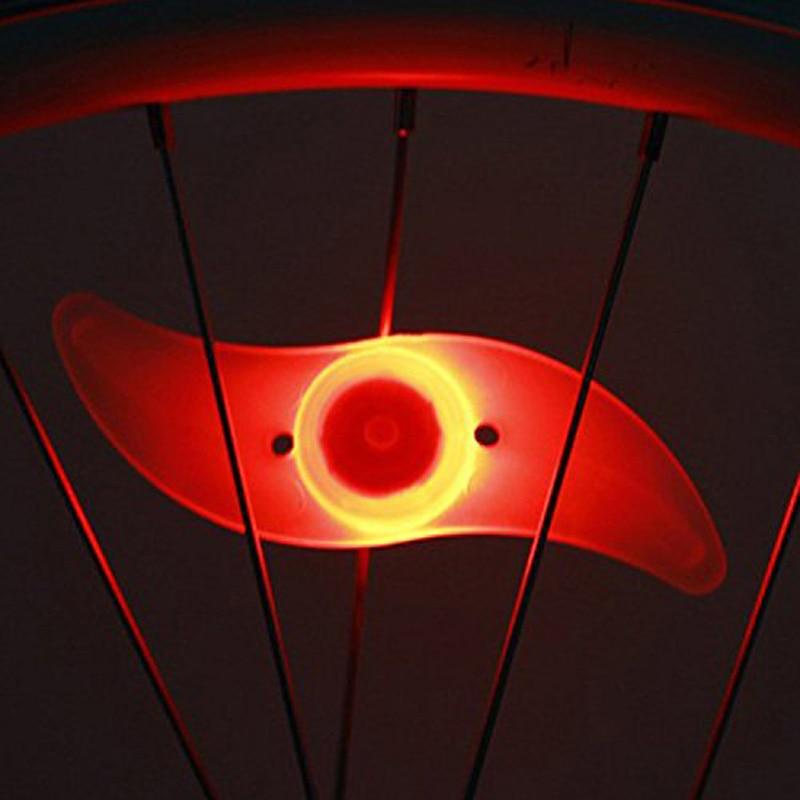 Us 247 32 Offna Zewnątrz Mtb Dekoracji Lampa Rowerowa Szprychy Lampa Jazda Na Rowerze Rower Willow Koło Led Drutu światła Fajny Prezent Ss W