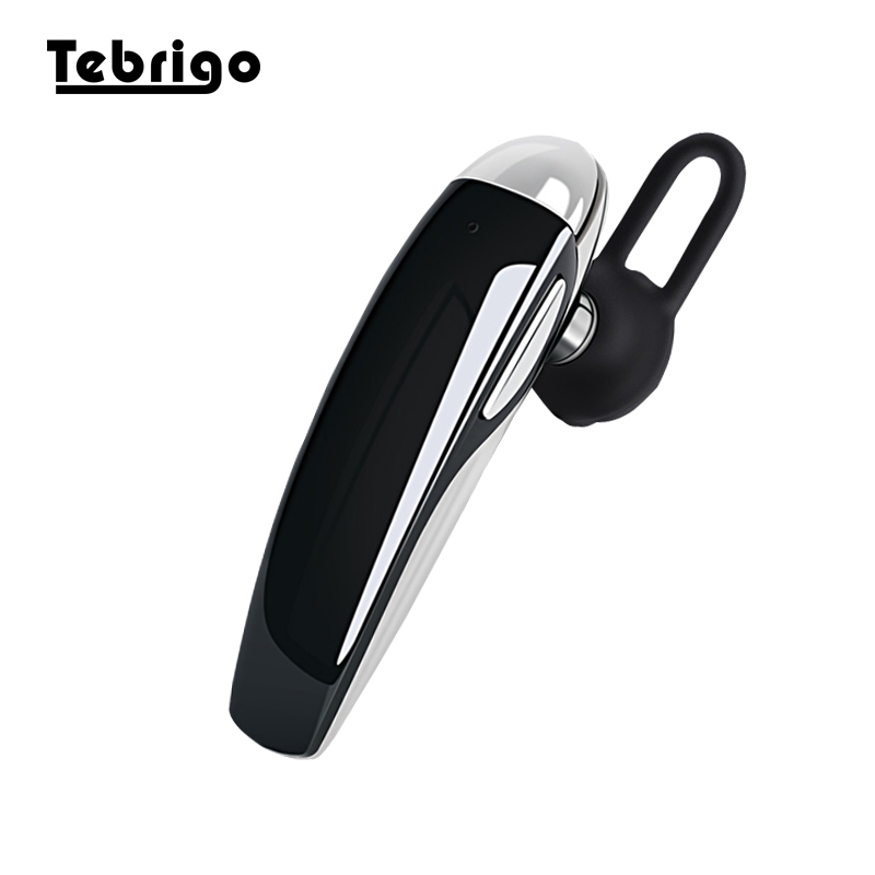 Bluetooth Earphones Earpiece Wireless Headset with Voice Reminder and Noise Cancelling Mic for iPhone Samsung Xiaomi Huawei