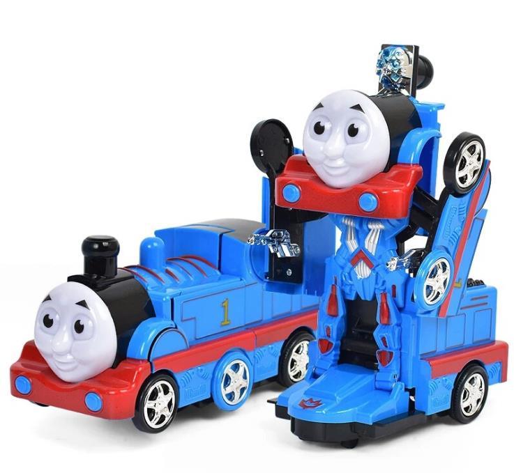 ElectricDeformation Ação robô Pequeno trem Thomas King