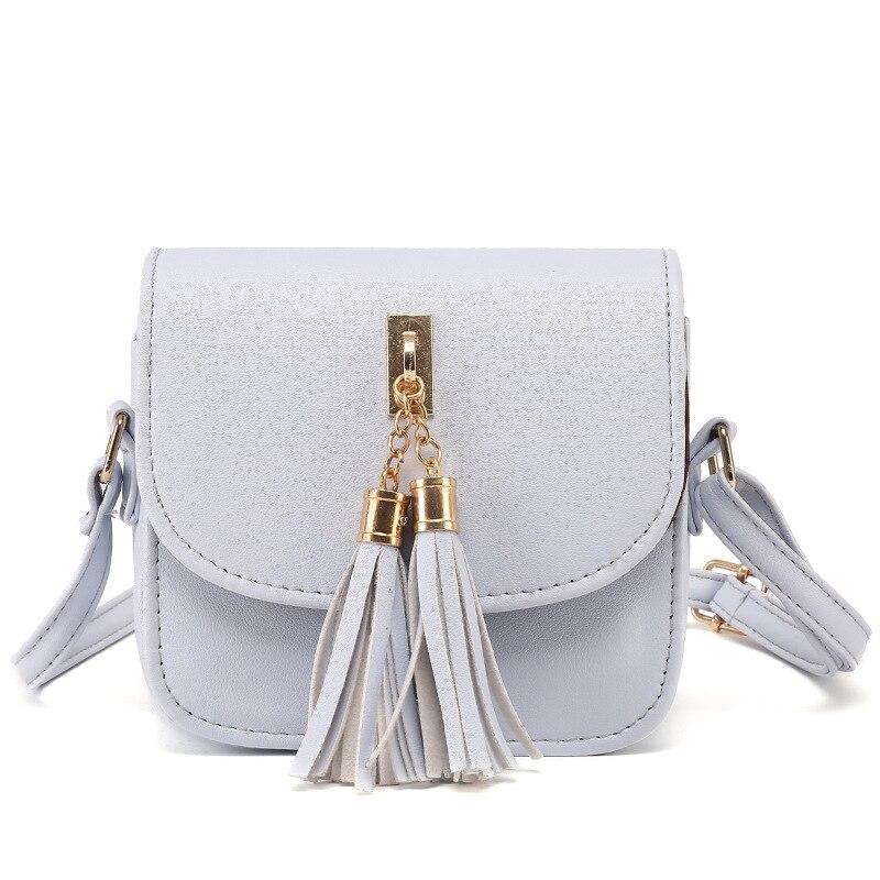 1a488305dc9d Fashion 2018 Small Chains Bag Women Candy Color Tassel Messenger Bags  Female Handbag Shoulder Bag Flap Women Bag Bolsa Feminina