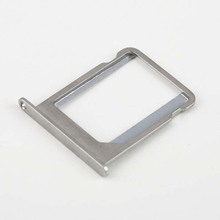 10PCS LOT Hot Sale Brand New Sim Card Slot Tray Holder for iPhone 4 4S Free