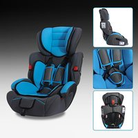 Car Baby Seat Blue Rear Forward Convertible Baby Children Kid Car Seat Booster For 9 36kg
