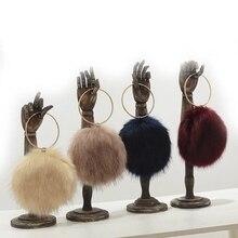 2018 New Furry Bag Faux Fox Fur