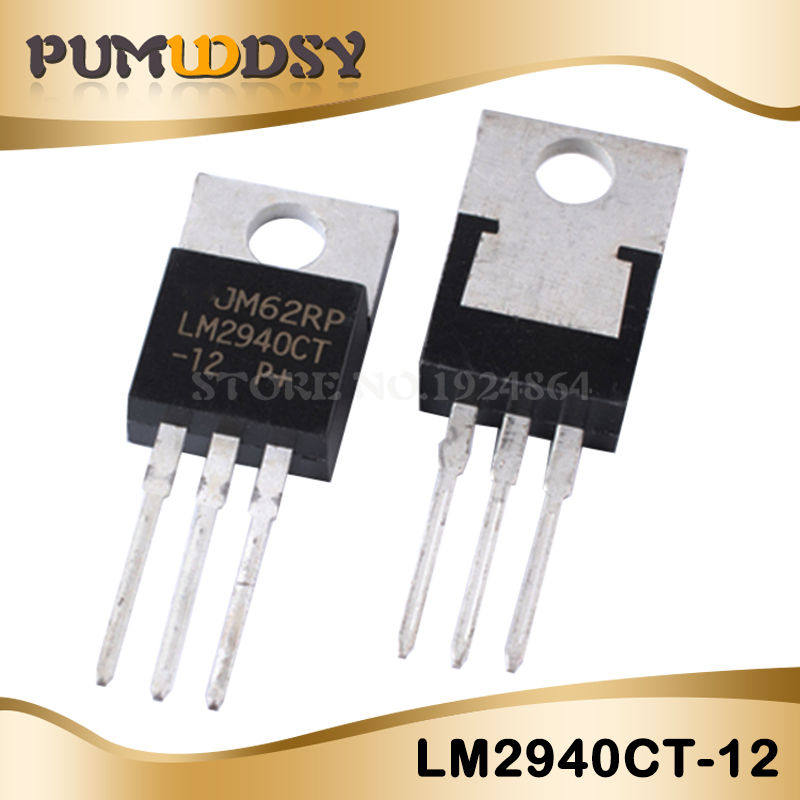 10pcs LM2940CT-12 LM2940 2940 TO220 IC image