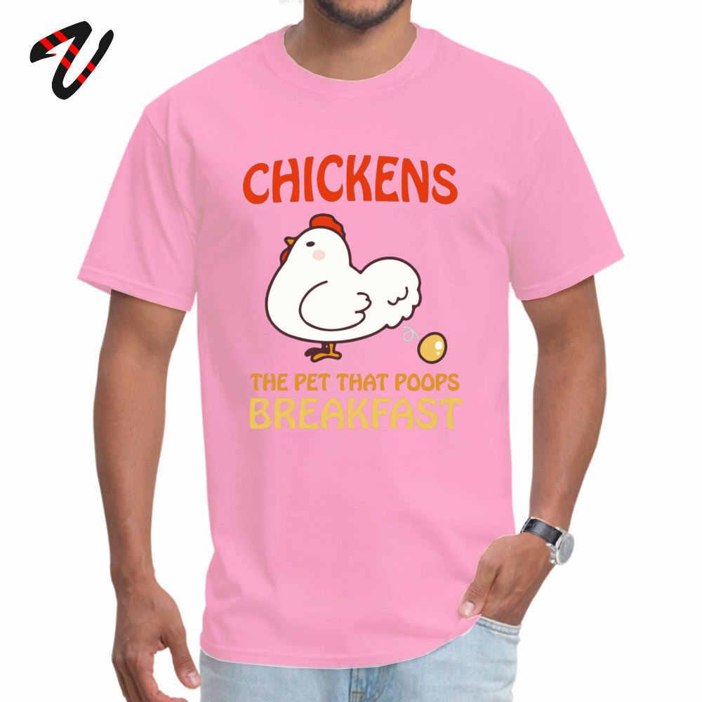 Camisetas de diseño para hombres, pollitos, mascotas, que trapean el desayuno, divertida camiseta con frase Liverpool Escocia, camiseta de verano, envío directo