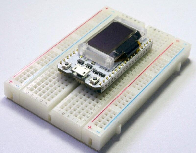ESP32 Bluetooth WIFI Kit Blue OLED 0.96 inch Display Module CP2102 32M Flash 3.3V-7V Internet Development Board for Arduino 3