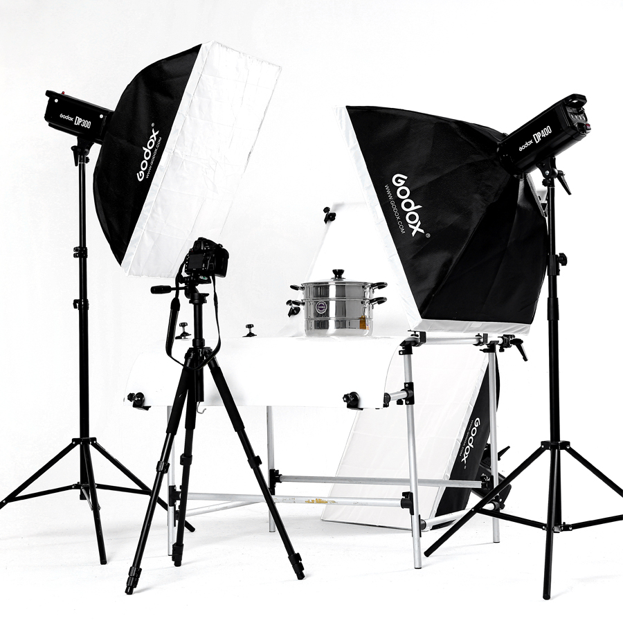 godox studio flash photography light shooting station set photographic equipment