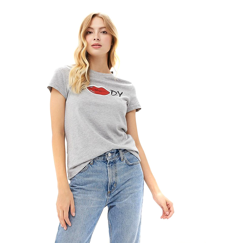 T-Shirts MODIS M182W00170 shirt cotton for for female for woman TmallFS t shirts modis m182w00155 shirt cotton for for female for woman tmallfs