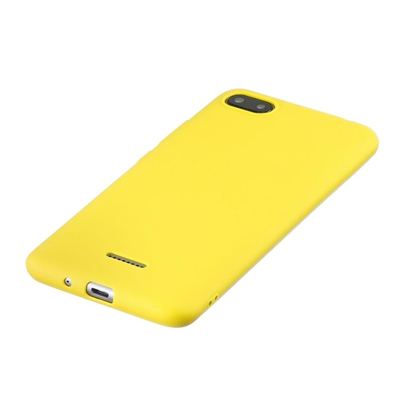 For Xiaomi Redmi 6A Case Cover Soft Silicone Colored Phone Cover Case For Xiomi Redmi 6A 6 A A6 Phone Back Fundas Redmi 6A Case