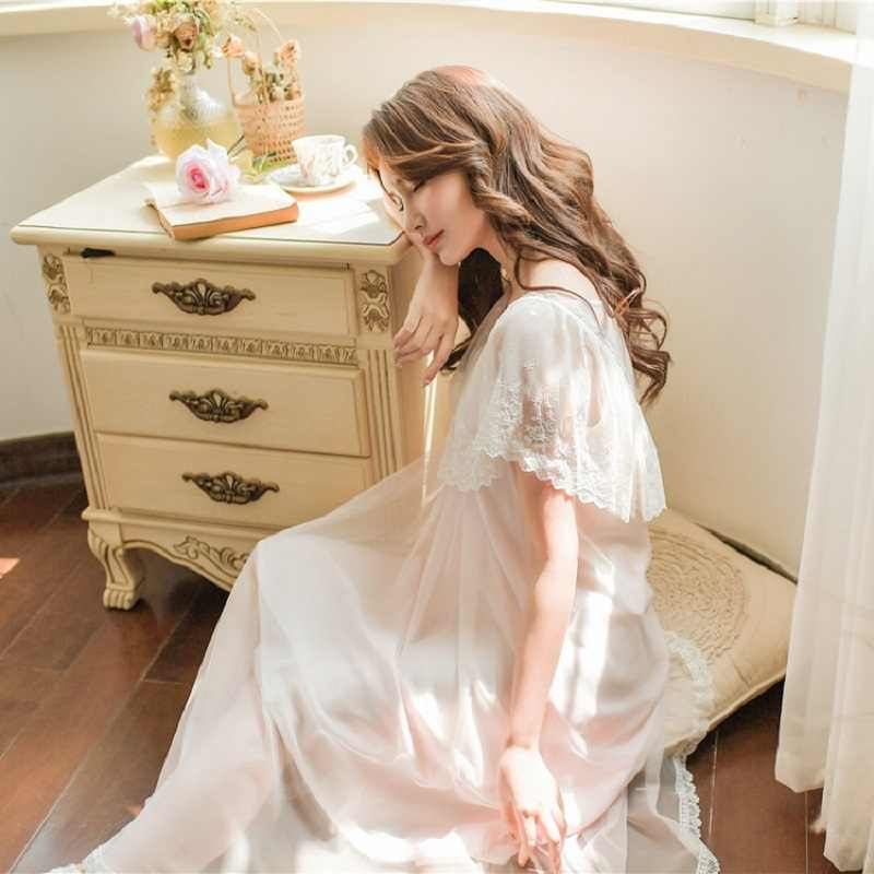 White Lace Nightgowns Vintage Princess