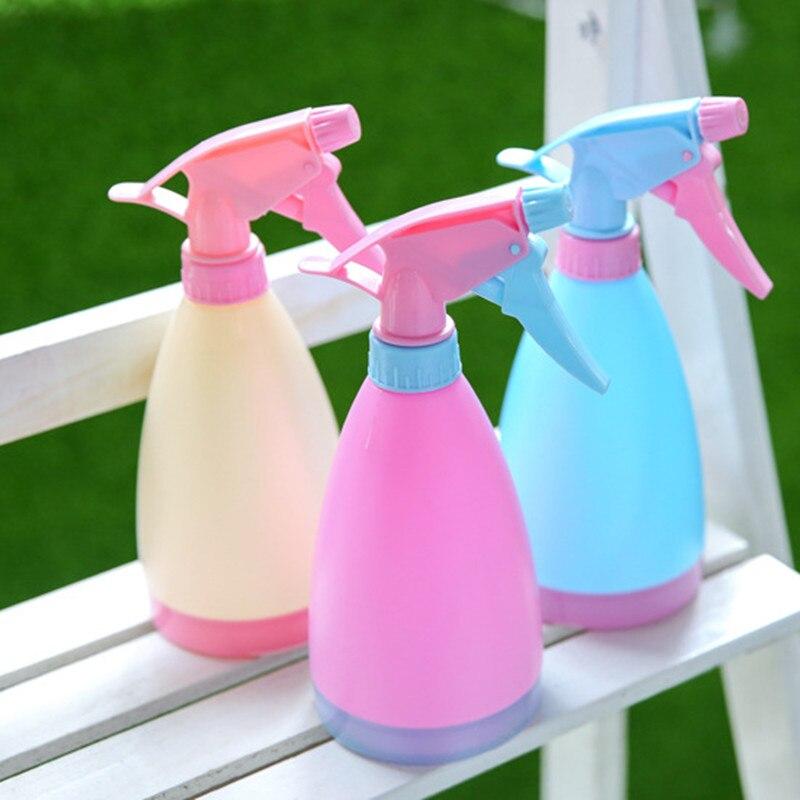 Flower Plant Hand Trigger Water spray bottle garden water dispenser hairdressing planting kettle Spray Plastic Pot Bottle Water