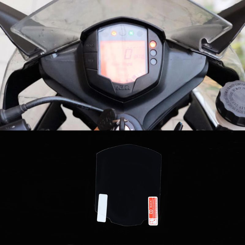 2 Set Cluster Scratch Cluster Screen Protection Film Protector For KTM Duke 200 For KTM Duke 390 For KTM 200 390