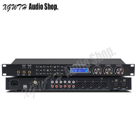 Pre effects KTV DJ Audio Digital Reverb Effect Equipment Front Anti howling Processor Stage Wedding Digital Preamp for Computer