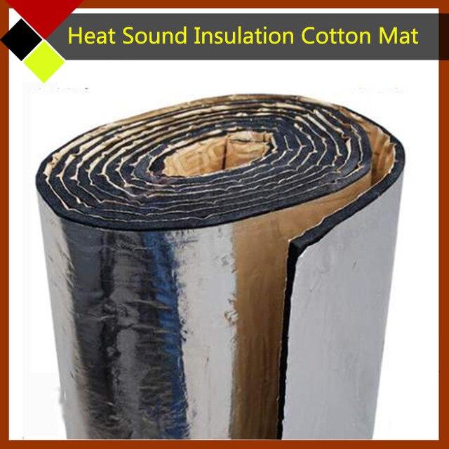 """Prueba de Papel De Aluminio del coche Deadener Mat 60 """"x 40"""" Calor de Sonido de Absorción de Material Fácil de Aislamiento Algodón de Aislamiento"""