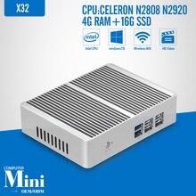 Fanless Tablet Computer Celeron N2808 N2920 DDR3 RAM 4G 16g SSD Laptop PC Mini PC Can External Hard Drive Windows 7/8.1