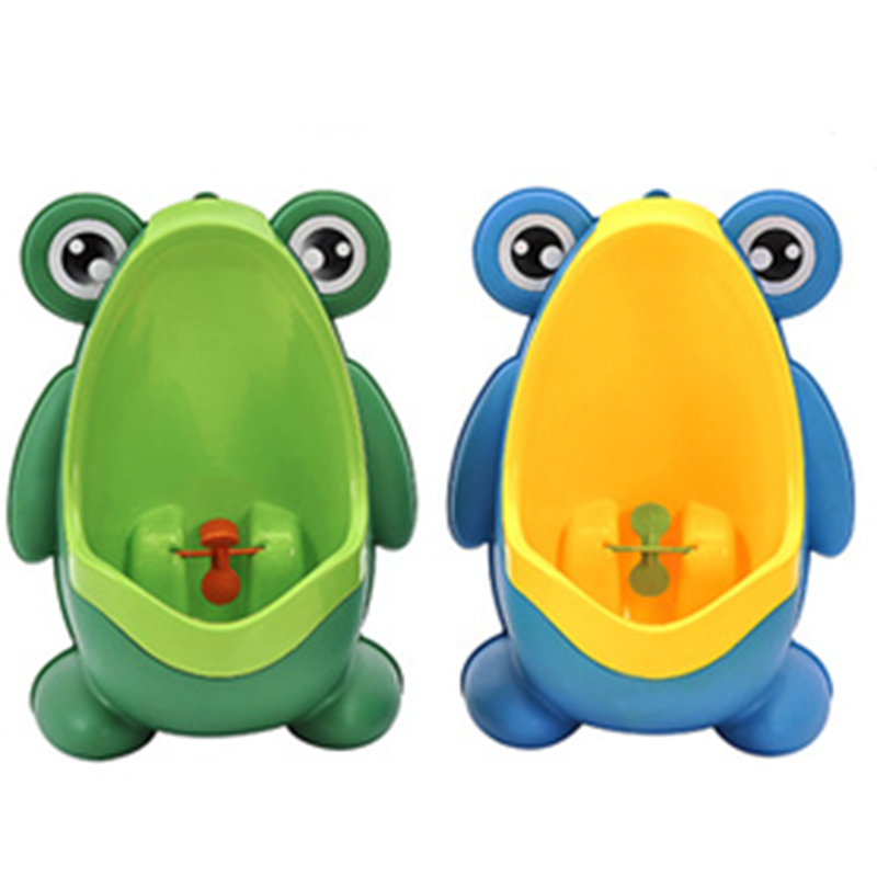 Newborn Multiple Styles Boy Potty Toddlers Wall-Mounted Hook Frog Shape Potty Kid Training Toilet Cartoon Stand Vertical Urinal
