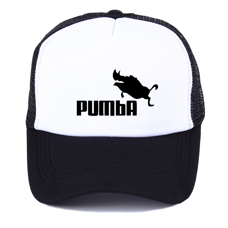 f226a2a0884 Trucker Caps Lion King Funny Hat Cap Men women Pumba Hakuna Matata Baseball  Cap Cool Summer