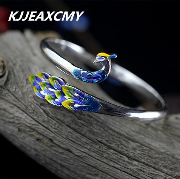 KJJEAXCMY Silver product S925 Sterling Silver Jewelry Ms. national wind Sanskrit mantra bracelet free shipping цена