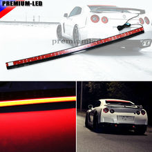 Universal 36-Inch Roofline LED Third Brake Light Kit Above Rear Windshield | For Nissan GTR  , Tesla Style