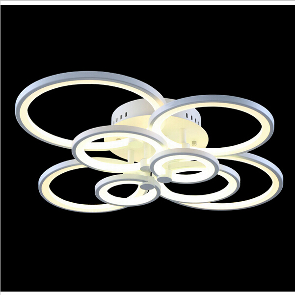 Aliexpress Modern Led Ceiling Lamps High White Warm Light Ring Lamp Re Lights From Reliable