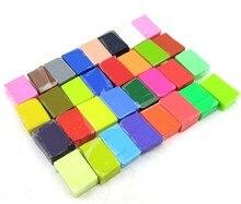 32 цвета дети цветные запеченные fimo моделирование полимерной глины / sculpey мягкого пластилина / игра тесто, Дети обучающие игрушки