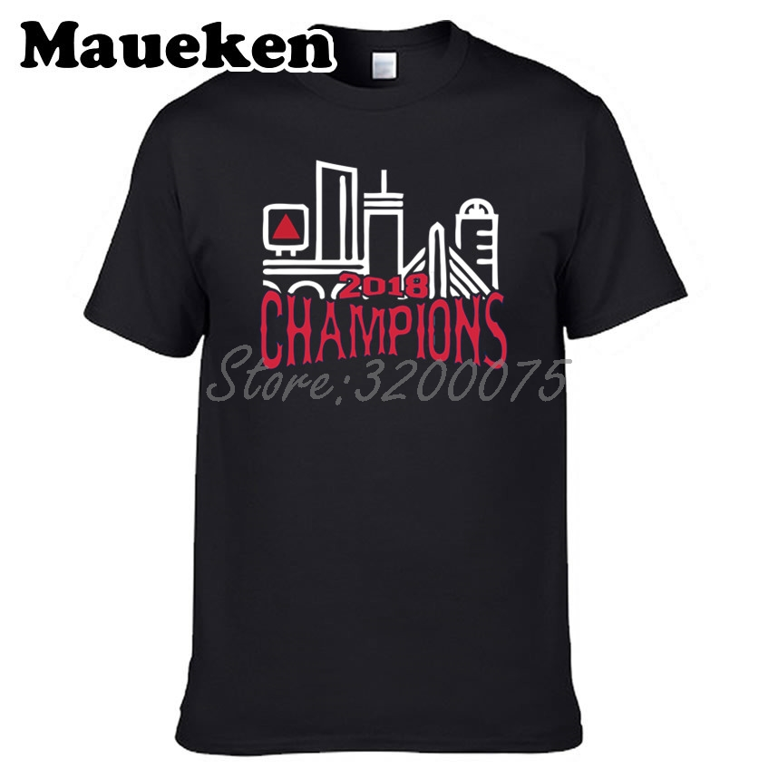 >Men Red Sox 2018 <font><b>World</b></font> <font><b>Champions</b></font> T-shirt Clothes T Shirt Men's tshirt for Boston fans <font><b>gift</b></font> tee W18102002