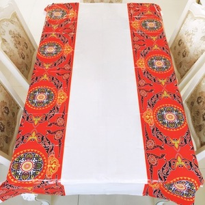 Image 5 - Muslim EID Disposable TableCloths Ramadan Table Cover Tablecloth Waterproof For Moslem Islamism Decoration 180*110cm 3 Styles