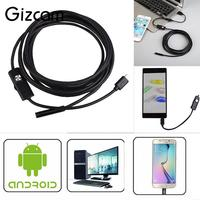 2m 8mm Android OTG 2MP Endoscope Waterproof LED USB Inspection Tube Video Camera