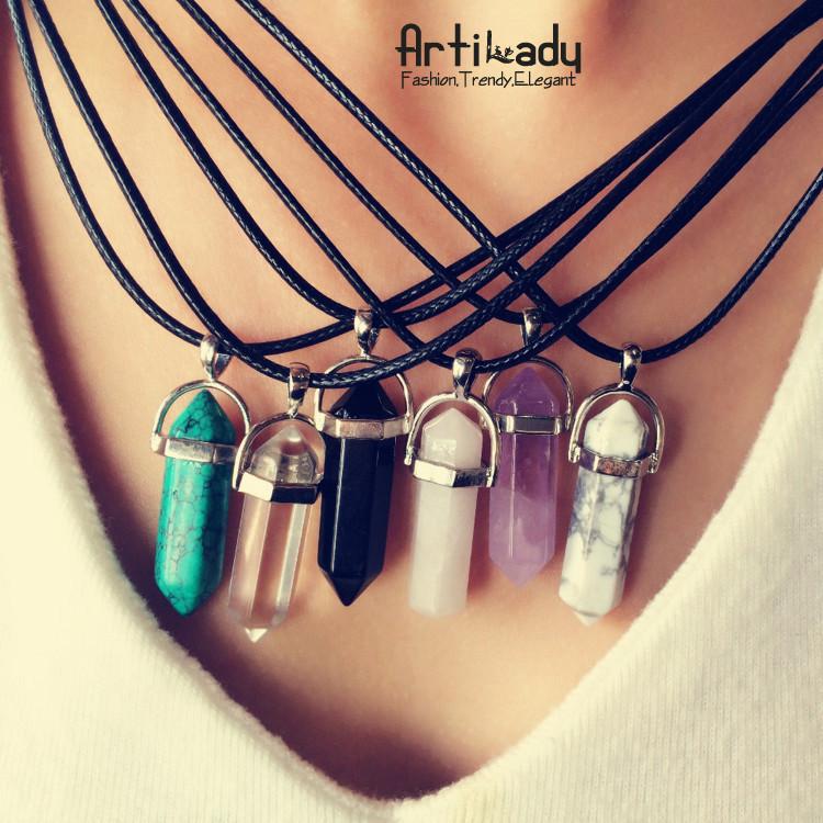 quartz necklace 4.69USD (1)