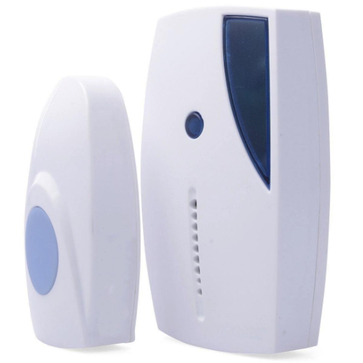 NEW 36 Tune Chimes Songs Waterproof LED Wireless Doorbell Remote Control Door Bell household 36 songs smart wireless doorbell remote control 100m range waterproof cordless intelligent doorbell fuli