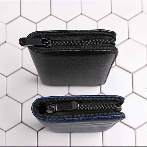NEW Professional Barber Salon Scissor Bag PU Leather Shears Case Hairdressing Holder Hair Scissors Holster Pouch