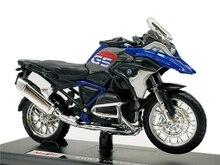 Миниатюрная модель мотоцикла Maisto 1:18 R1200GS, литье под давлением
