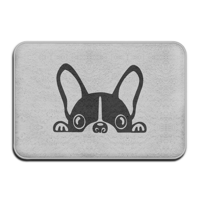French Bulldog Doormat Outdoor Fashion Door Mats Outdoor Area Rugs