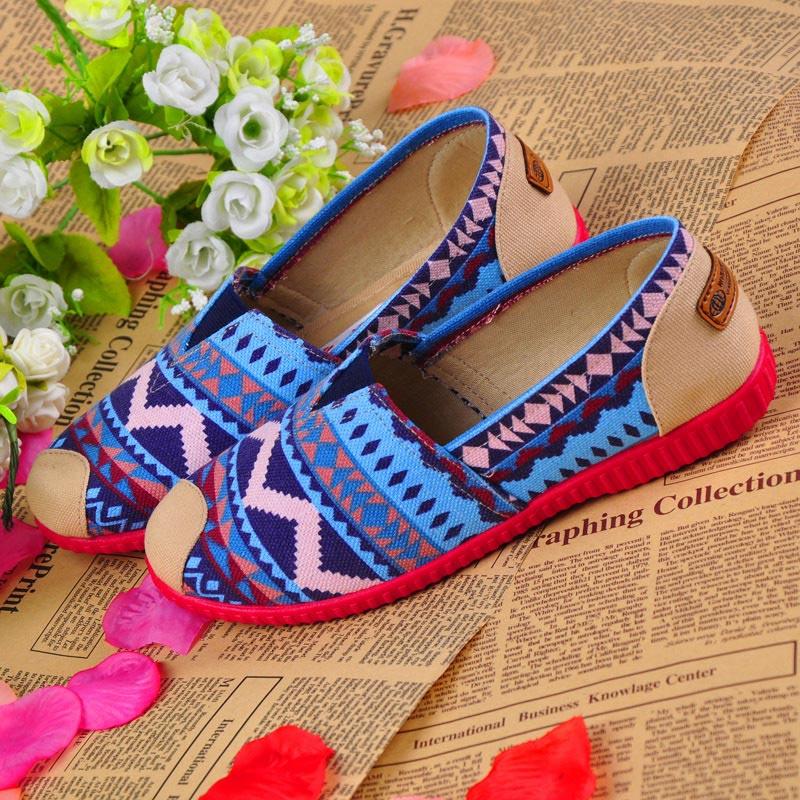 Женская обувь квартиры zapatos mujer 2015 горячей мода народная - пользовательские женщины sapatos feminino женщины свободного покроя обувь