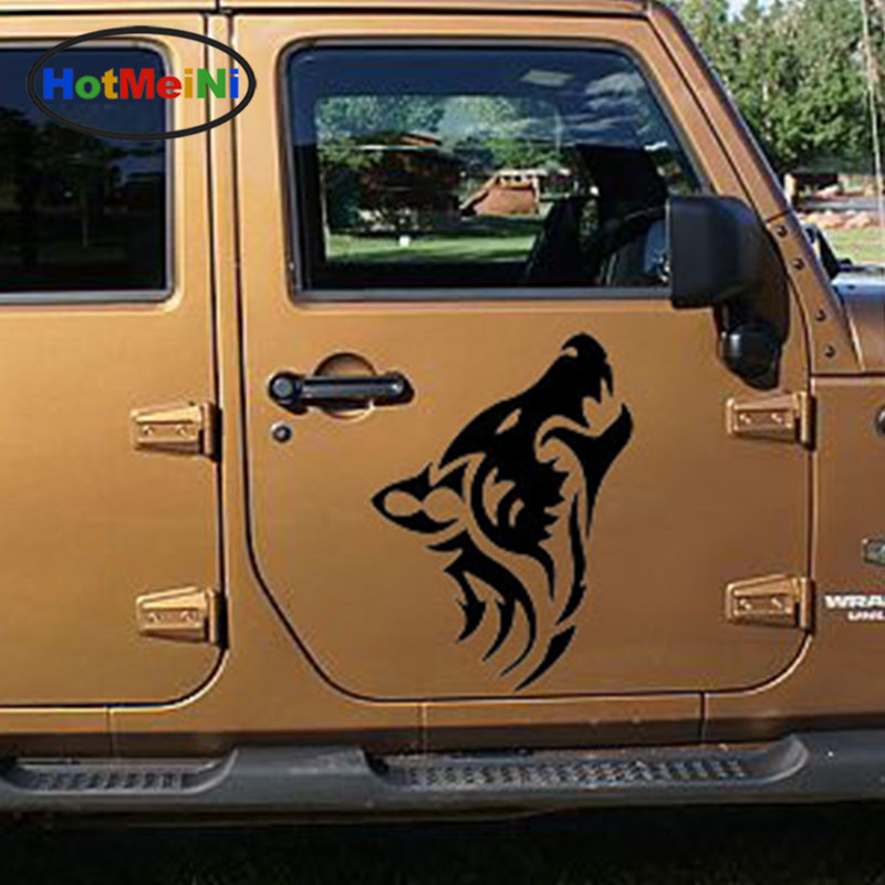 HotMeiNi Length:50cm Wolf Roar Silhouette Classic Lonely Wild Life Styling Car Sticker Truck Window Auto Door Kayak Vinyl Decal виниловая пластинка the wild feathers lonely is a lifetime 1 lp