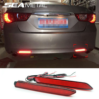2PCS Lot Car Styling For Toyota Camry 7th 2011 2012 2013 2014 Mark X Rear Bumper