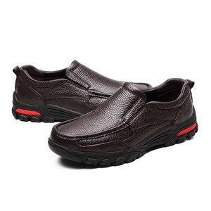 Image 3 - VANCAT zapatos de negocios de piel auténtica para hombre, calzado Formal hecho a mano, de alta calidad, para nieve, talla 38 48