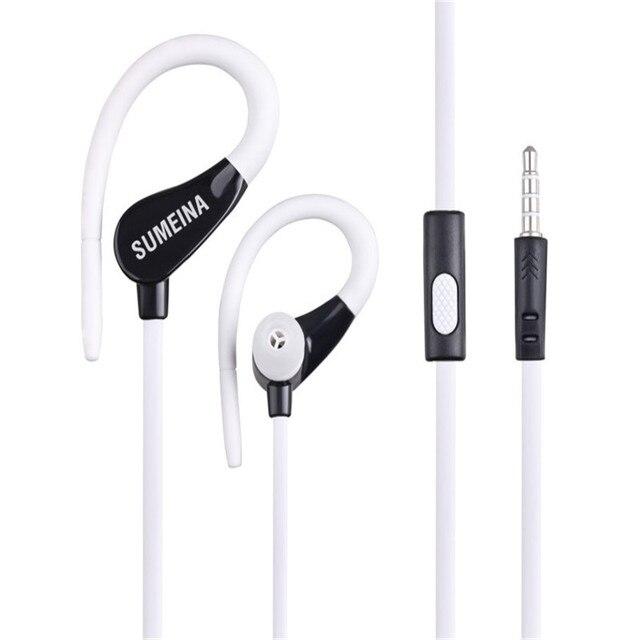 SMN-11 Earphones 3.5mm In-Ear Stereo Headset Handsfree Music Sport Earbuds With Mic for iPhone Xiaomi MP3 VS Bluetooth earphones 3