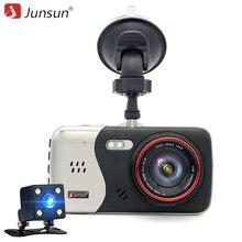 "Junsun 4,0 ""IPS Auto dvr dash cam auto-video-recorder Full HD 1920*1080 P Nachtsicht-doppelobjektiv kamera DVRs recorder"