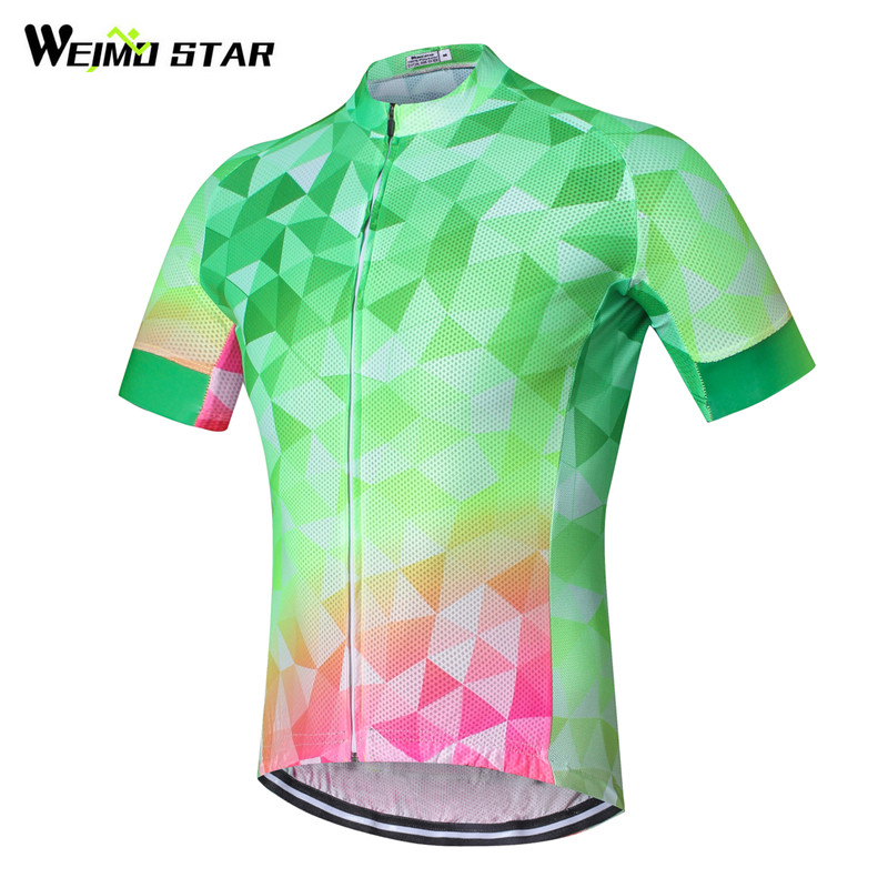 Weimostar Cycling Jersey 2017 Men Mountian Bicycle Cycling Clothing Short Sleeve MTB Bik ...