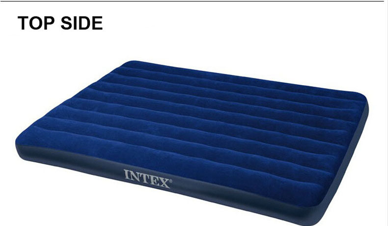 new high quality intex double plus size air mattress inflatable bed152