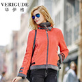 Veri Gude Jacket for Women Wide Waist Warm Coat for Winter Faux Fur Lined High Quality