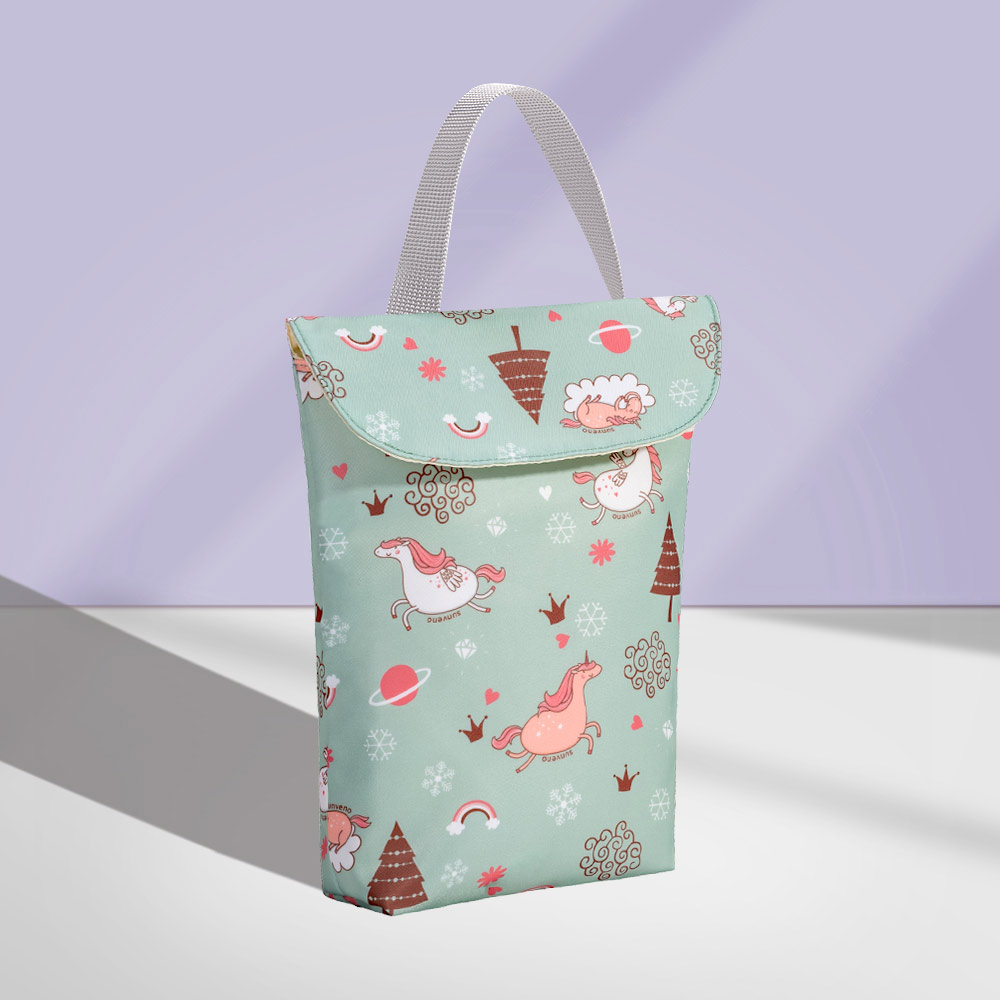 HTB17RbBdfc3T1VjSZLeq6zZsVXaT Sunveno Multifunctional Baby Diaper Organizer Reusable Waterproof Fashion Prints Wet/Dry Bag Mummy Storage Bag Travel Nappy Bag