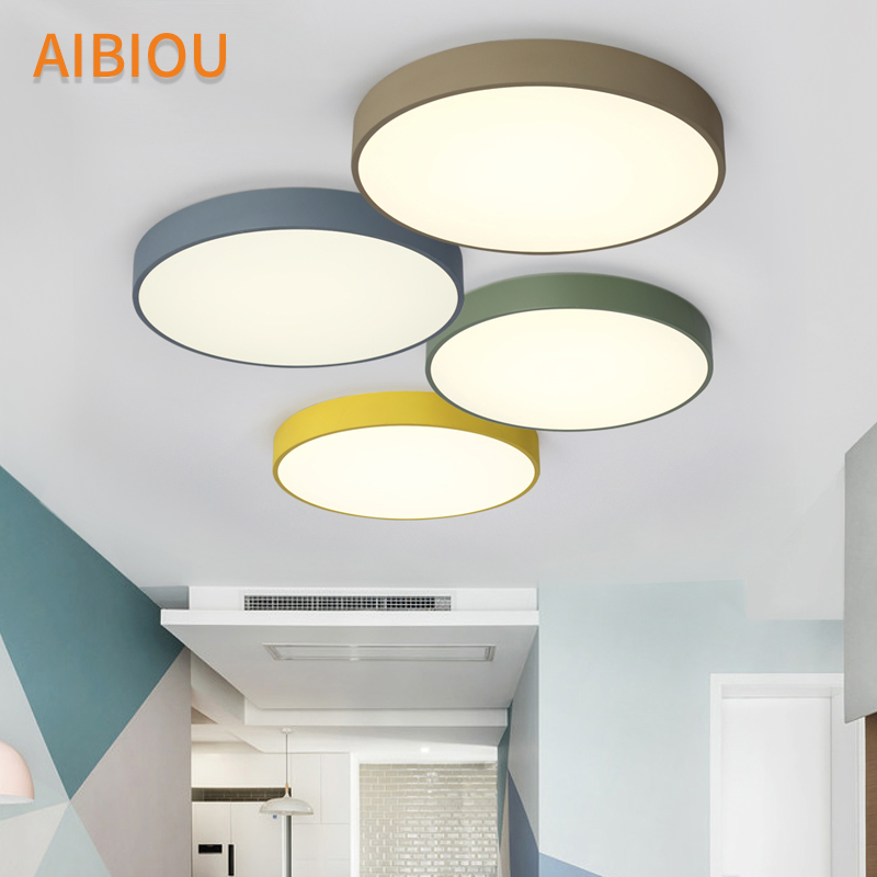 Lighting Stores And Light Fixtures: Aliexpress.com : Buy AIBIOU Round Ceiling Lights Modern