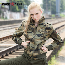 Autumn Jackets Women 2017 New Spring Jacket Female Camouflage Female Hoodie Fall Jackets For Women Coat Jacket Ladies GS-8338