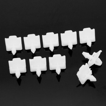 10pcs Car Side Door Moulding Trim Clips For Mercedes W124 E Class W201 190 A0019884981 image
