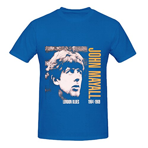 Eric Clapton John Mayall <font><b>London</b></font> <font><b>Blues</b></font> Electronica Men O Neck Diy T Shirts