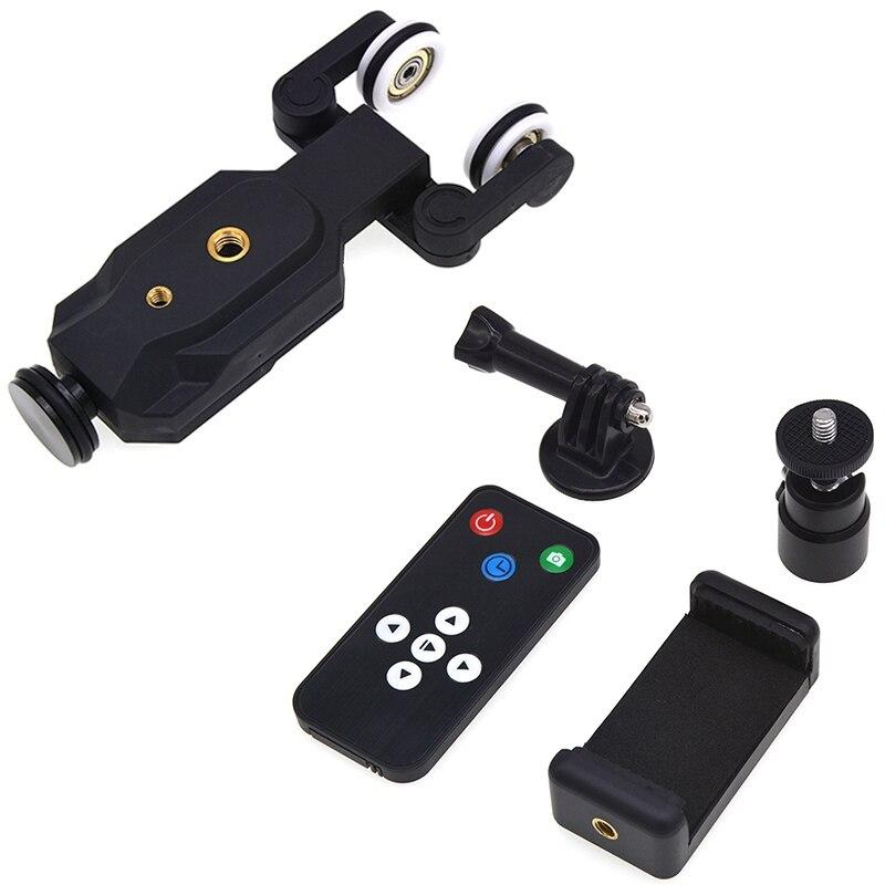 C100 Pro 3 колеса Wirelesss видео Камера автоматическая тележка Скейтер для железнодорожных путей для Dslr Камера s видеокамеры для Iphone г